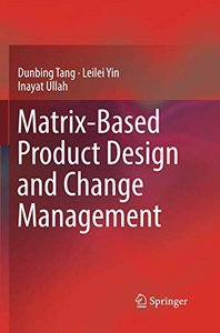 Matrix-based Product Design and Change Management-cover