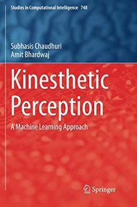 Kinesthetic Perception: A Machine Learning Approach (Studies in Computational Intelligence)-cover