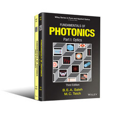 Fundamentals of Photonics, 2 Volume Set, 3/e-cover