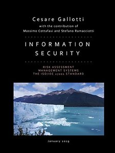 Information security: risk assessment, management systems, the ISO/IEC 27001 standard-cover