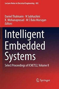 Intelligent Embedded Systems: Select Proceedings of ICNETS2, Volume II (Lecture Notes in Electrical Engineering)-cover