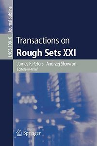 Transactions on Rough Sets XXI (Lecture Notes in Computer Science)-cover