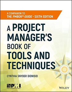 A Project Manager's Book of Tools and Techniques-cover