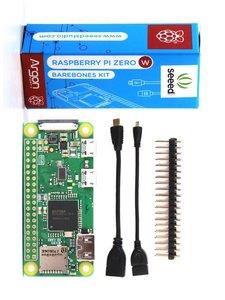 Raspberry Pi Zero W Barebones Kit (含Zero W +Mini HDMI OTG線 + 排針)-cover