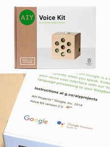 AIY Projects – Voice Kit 語音套件(v2.0),內含樹莓派 Pi Zero WH-cover