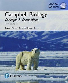 Campbell Biology : Concepts & Connections, 9/e (GE-Paperback)-cover