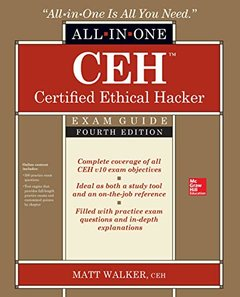 CEH Certified Ethical Hacker All-in-One Exam Guide, Fourth Edition-cover