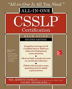 CSSLP Certification All-in-One Exam Guide, Second Edition-cover