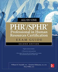 PHR/SPHR Professional in Human Resources Certification All-in-One Exam Guide, Second Edition-cover