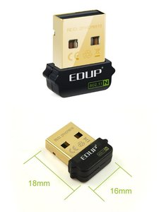 EDUP Wireless USB Network NANO Card 迷你無線網卡