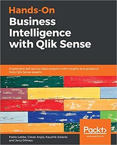 Hands-On Business Intelligence with Qlik Sense -cover