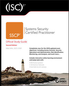 (ISC)2 SSCP Systems Security Certified Practitioner Official Study Guide, 2/e (Paperback)-cover