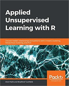 Applied Unsupervised Learning with R-cover