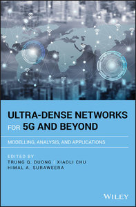 Ultra-Dense Networks for 5G and Beyond: Modelling, Analysis, and Applications (Hardcover)-cover