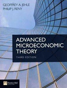 Advanced Microeconomic Theory, 3/e (Paperback)-cover