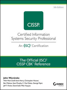 The Official (ISC)2 Guide to the CISSP CBK Reference, 5th Edition-cover