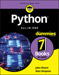 Python All-in-One For Dummies-cover