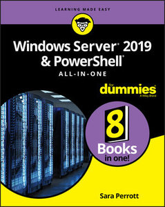 Windows Server 2019 & PowerShell All-in-One For Dummies-cover