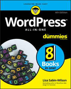 WordPress All-In-One For Dummies, 4th Edition-cover