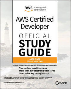 AWS Certified Developer Official Study Guide: Associate (DVA-C01) Exam, Associate Exam-cover