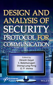 Design and Analysis of Security Protocal for Communication-cover