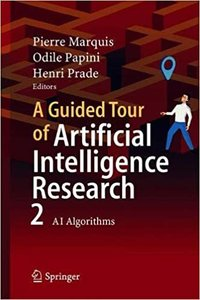 A Guided Tour of Artificial Intelligence Research: Volume II: AI Algorithms-cover