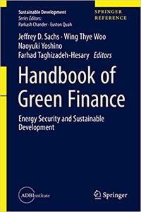 Handbook of Green Finance: Energy Security and Sustainable Development-cover