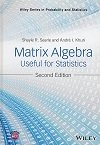 Matrix Algebra Useful for Statistics, 2/e (Hardcover)-cover
