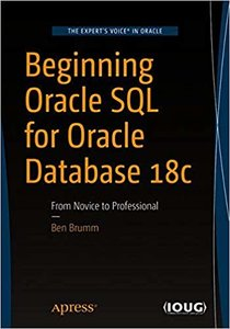 Beginning Oracle SQL for Oracle Database 18c: From Novice to Professional-cover