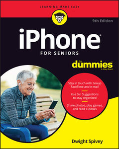 iPhone For Seniors For Dummies, 9th Edition-cover