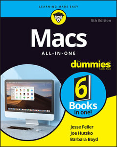 Macs All-In-One For Dummies, 5th Edition-cover