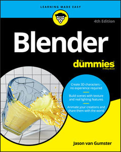 Blender For Dummies, 4th Edition-cover
