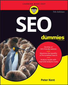 SEO For Dummies, 7th Edition-cover