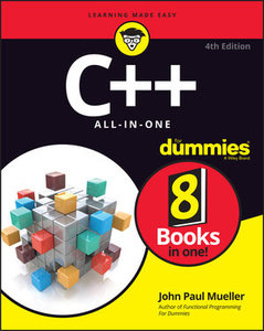 C++ All In One For Dummies , 4th Edition-cover