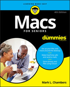 Macs For Seniors For Dummies, 4th Edition-cover