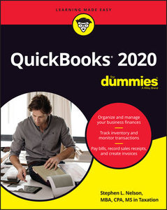 QuickBooks 2020 For Dummies, 1st Edition-cover