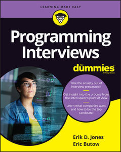 Programming Interviews For Dummies-cover