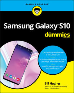 Samsung Galaxy S10 For Dummies-cover