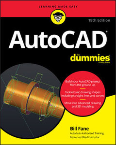 AutoCAD For Dummies, 18th Edition-cover