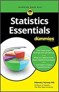 Statistics Essentials for Dummies-cover
