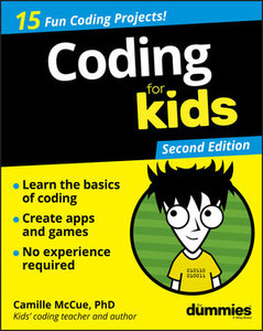 Coding For Kids For Dummies, 2nd Edition-cover