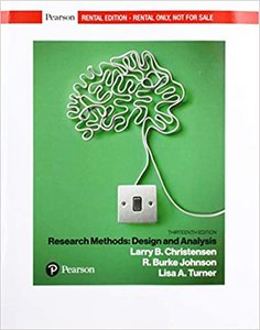 Research Methods, Design, and Analysis [rental Edition]-cover