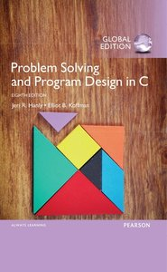 Problem Solving and Program Design in C, 8/e (GE-Paperback)-cover