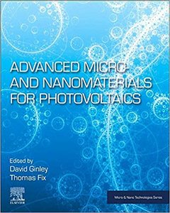 Advanced Micro- And Nanomaterials for Photovoltaics-cover