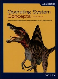 Operating System Concepts, 10/e (IE-Paperback)-cover