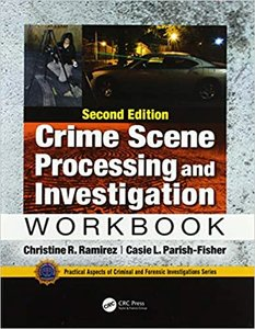 Crime Scene Processing and Investigation Workbook, Second Edition-cover