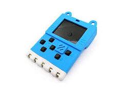 喵比特 Meowbit Kittenbot  - 迷你圖形復古遊戲計算機 - 藍色帶電池-cover