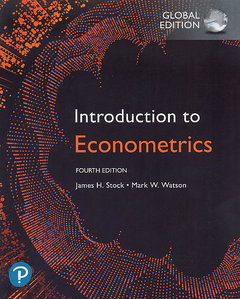 Introduction to Econometrics, 4/e (Paperback)-cover