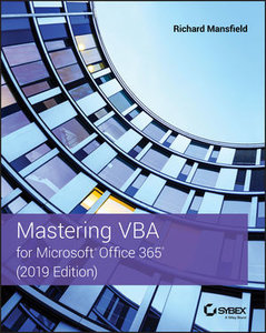 Mastering VBA for Microsoft Office 365, 2019 Edition-cover