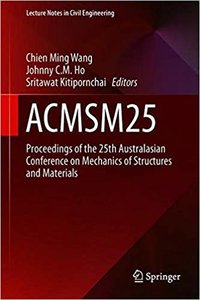 Acmsm25: Proceedings of the 25th Australasian Conference on Mechanics of Structures and Materials-cover